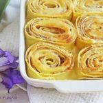 rose di pasta ripiena al forno