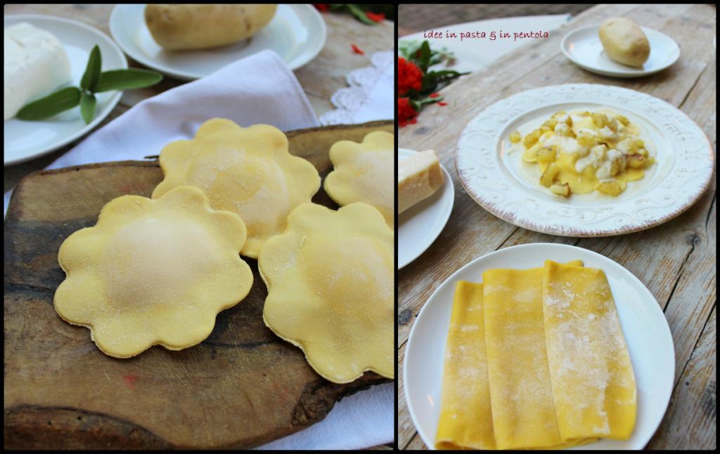 Tortelli patate parmigiano