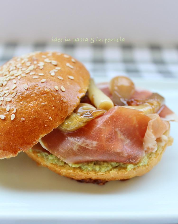 Parma Burger ovvero la mia versione del Panino da Re per il Festival del Prosciutto di Parma