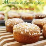 merendine di farina di riso e marmellata