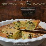 Clafoutis di Broccoli, Zucca e Patate