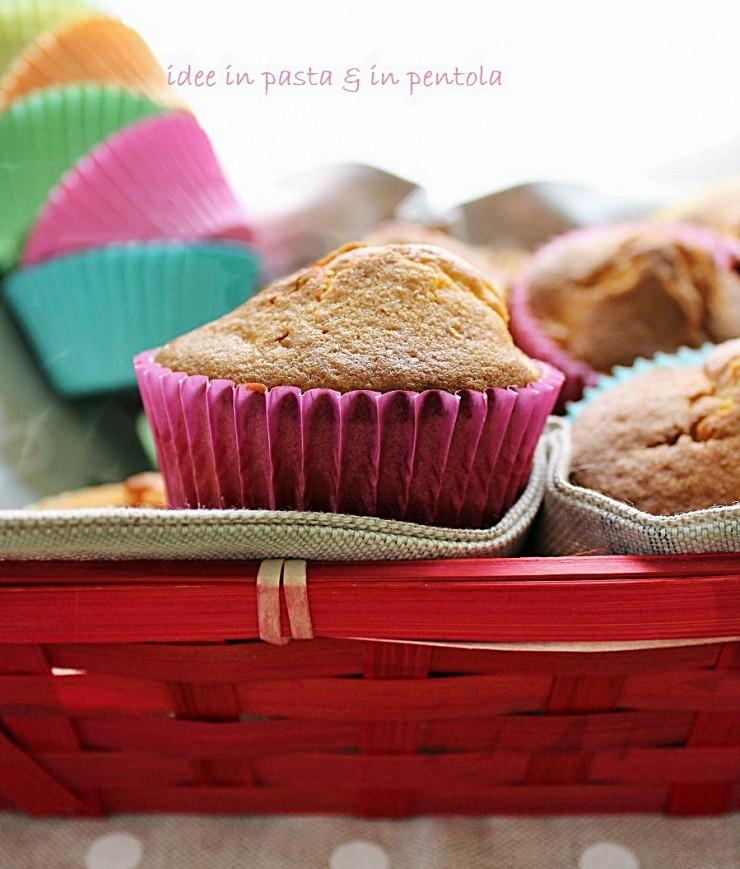 Muffin al Mascarpone con Pere allo Zenzero