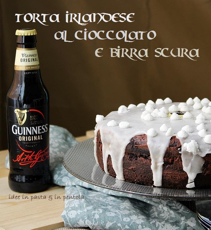 Guinness Cake – Torta di Cioccolato alla Birra