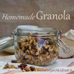 Granola per colazione