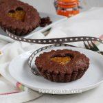 Crostatine al Cacao con Marmellata di Arance