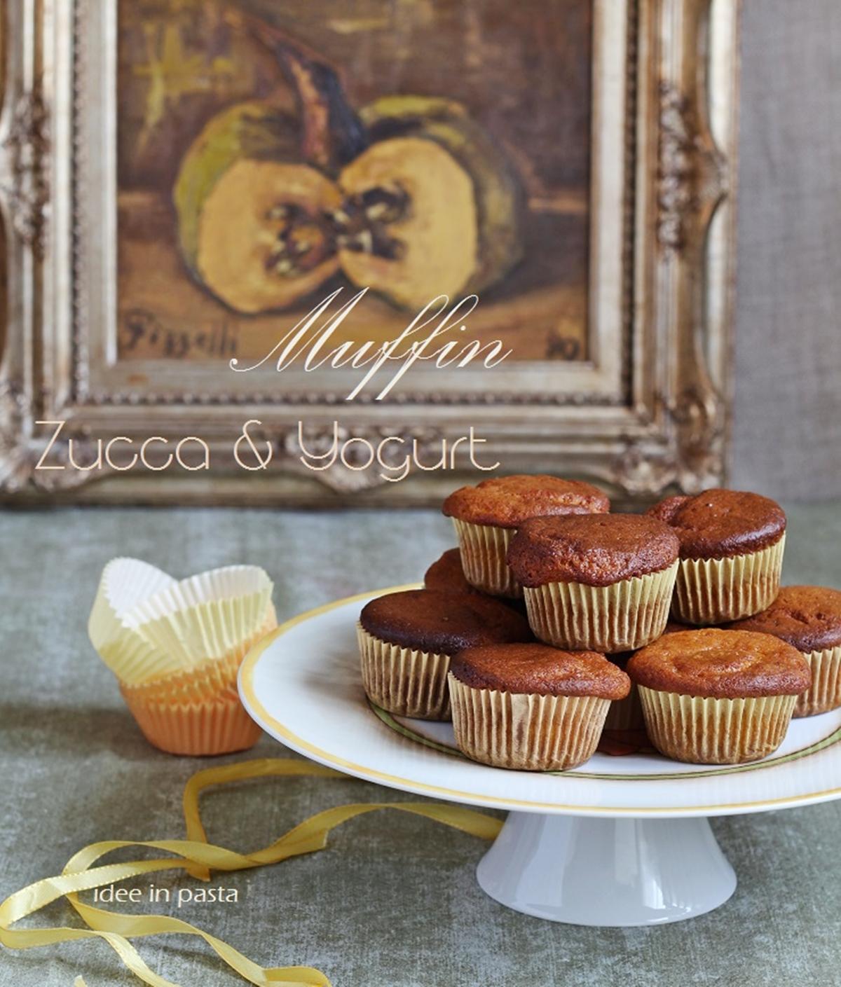 Muffin alla Zucca e Yogurt