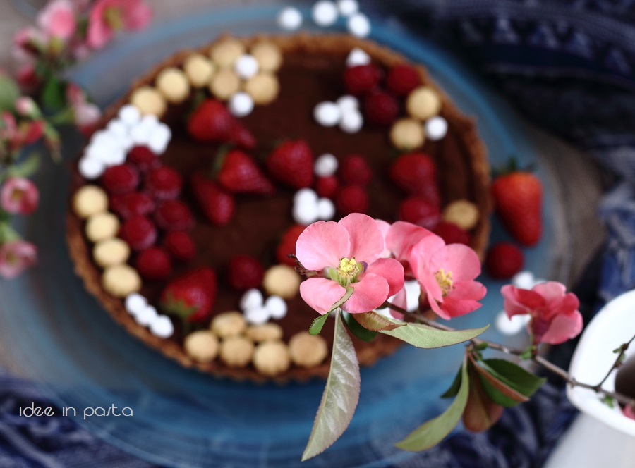 Crostata al cioccolato di Ottolenghi