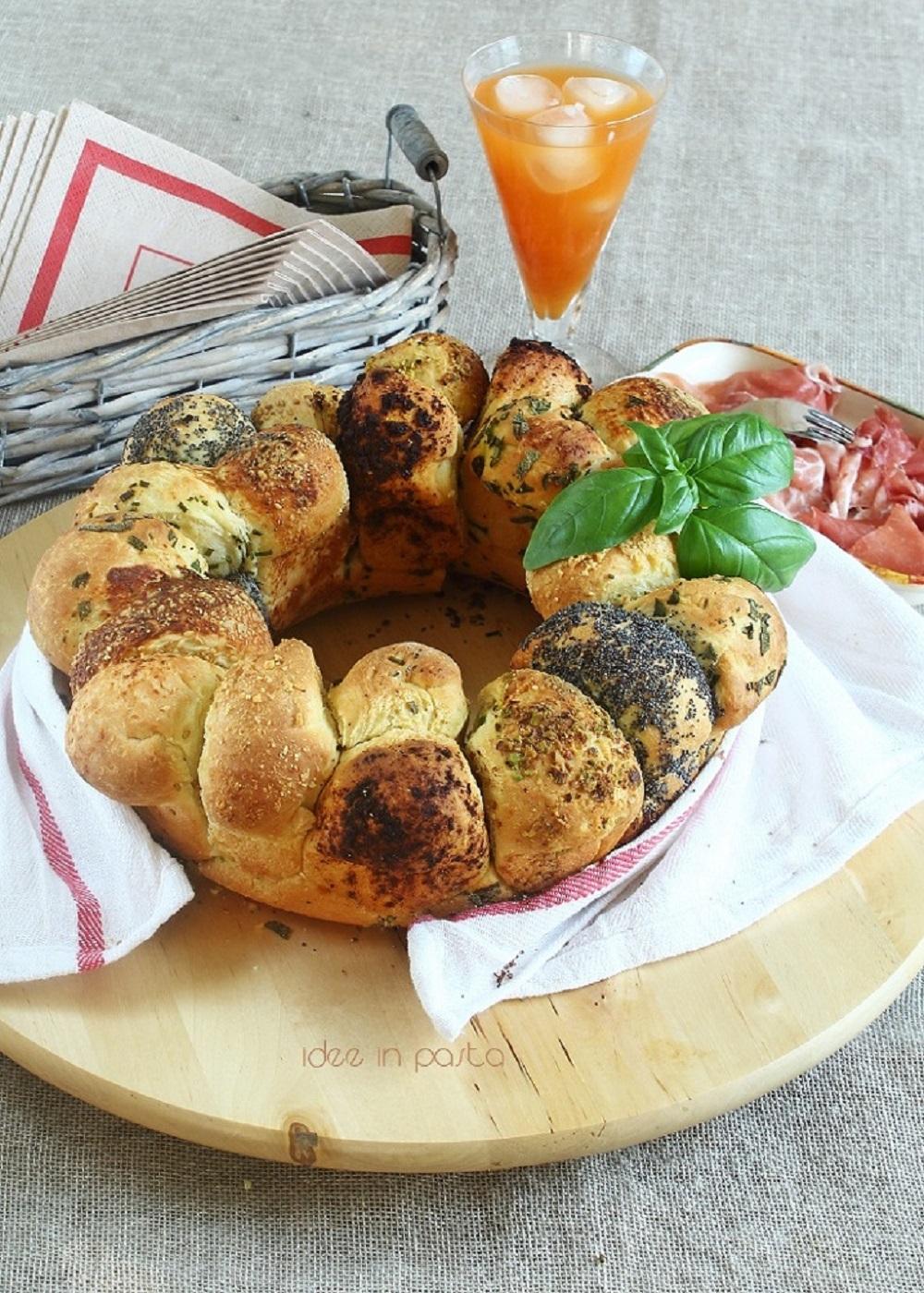 Monkey Bread con erbe e spezie