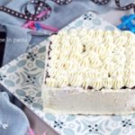 Torta gelato con biscuit al cacao