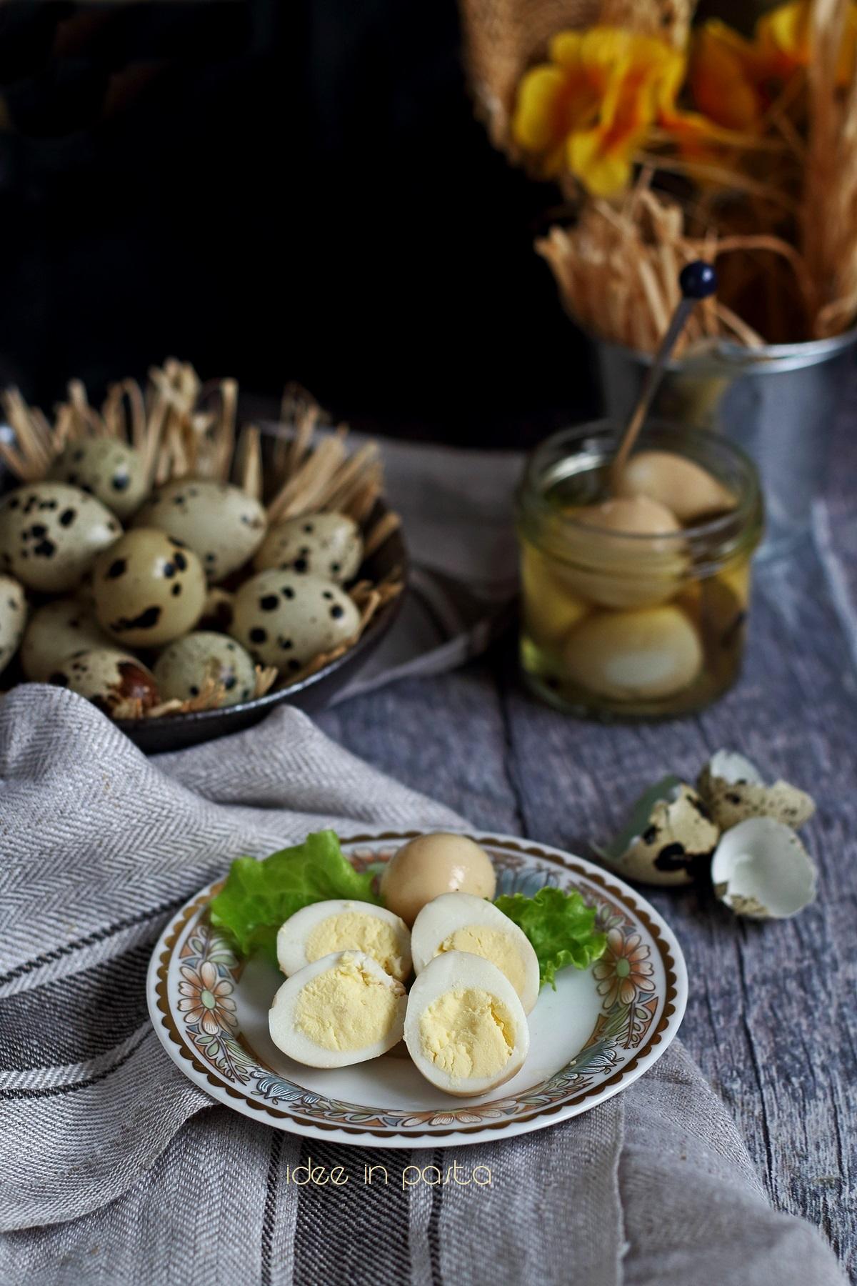 Ricette Uova Di Quaglia Sode.Uova Di Quaglia Sott Aceto Idee In Pasta