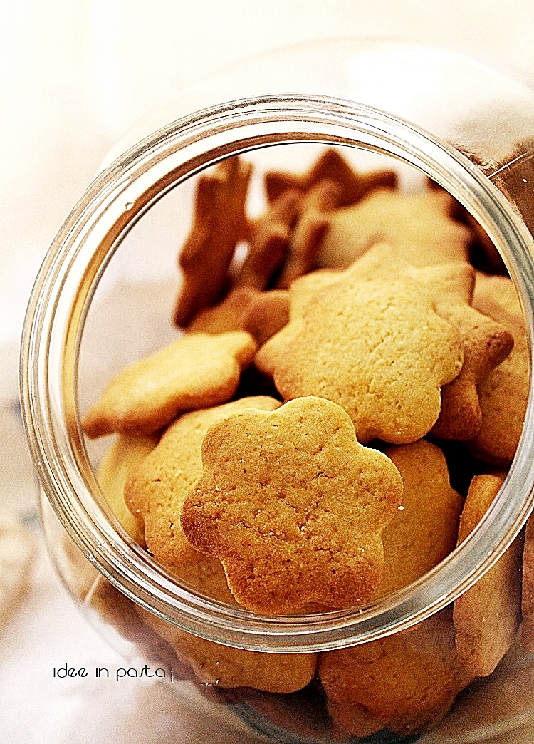 Biscottini friabili di torrone