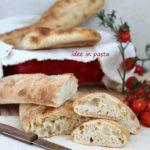 no-knead bread sticks