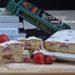 torta di soli albumi alle fragole
