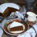 Torta al caffellatte caldo