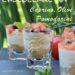 Bicchierini di Cheesecake al Caprino, Pomodori e Olive